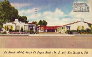 LA SIESTA MOTEL EL CAJON BLVD SAN DIEGO, CA 1955