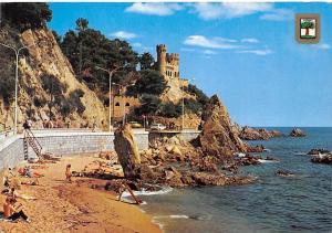 Spain Lloret de Mar (Costa Brava) Castle and Promenade Chateau Promenade