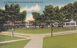South Carolina Parris Island U S Naval Hospital and Grounds