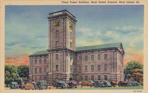 Clock Tower Building Rock Island Arsenal Rock Island Illinois