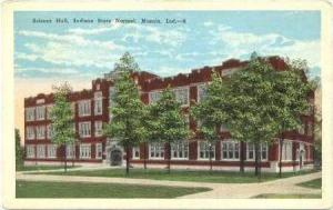 Science Hall, Indiana State Normal, Muncie, Indiana, PU-1926