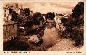 CPA  Fontenay-le-Comte - Le Pont des Sardines  (637334)