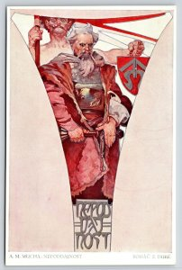 Alphonse Mucha~Nepoddajnost~Unbending~Sword Shield~1st Edition~Jan Roháč z Dube