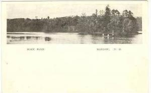 View Of Mack Pond, Marlow, New Hampshire, 1900-1910s
