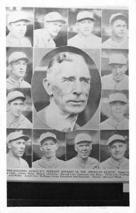 Baseball Real Photo Postcard Post Card Reproduction - Philadelphia, PA Athle...