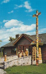 Whetung Ojibwa Crafts Centre , Curve Lake , Ontario , Canada , 50-60s