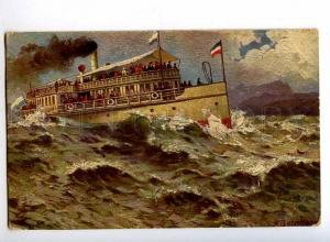 190486 GERMANY Starnberger See ship WITTELSBACH by BERNHARD
