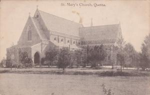 QUETTA, Pakistan; St. Mary's Church, 1900-10s
