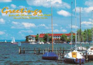 Germany Greetings From The Chiemsee Lake Hotel Armed Forces Recreation Center