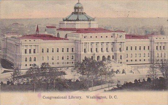 Congrssional Library Washington D C  1905