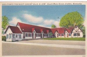 CORBIN , Kentucky, 30-40s ; Helton's Tourist Court