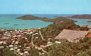 Virgin Islands - St. Thomas, Water Catchment, Aeria View