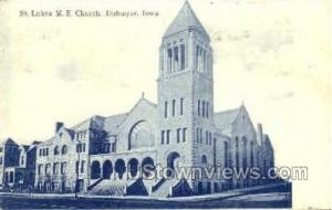St Lukes M E Church Dubuque IA 1909