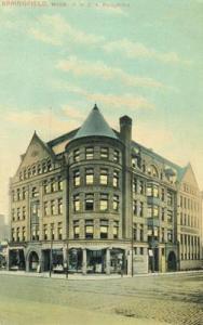 Springfield Mass, Y.M.C.A. Building 1908 unused Postcard