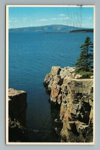 Cadillac Mountain Frenchman's Bay Schoodic Point Acadia Park Maine ME Postcard