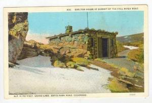Sheltar House, Summit of Fall River Road, Grand Lake, Estes Park Road, Colora...