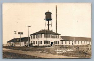 GAYLORD MI SAGINAW WOOD PRODUCTS ANTIQUE REAL PHOTO POSTCARD RPPC