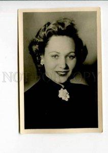422829 USSR Lidia SMIRNOVA MOVIE Star ACTRESS PHOTO Lenfotohudozhnik 1952