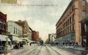 Fourth Street Sioux City IA 1915