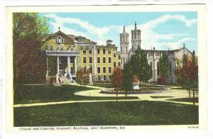 Church & Convent, Nazareth Academy, Near Bardstown, Kentucky, 1910-1920s