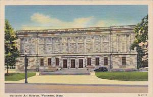 Massachusetts Worcester Art Museum Curteich