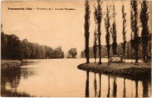 CPA Ermenonville- Tombeau de J.J. Rousseau FRANCE (1020500)