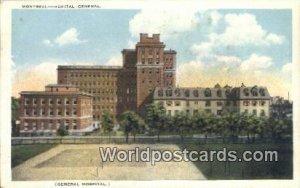 Hospital General Montreal Canada Unused