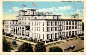 Florida Tampa The De Soto Hotel Curteich