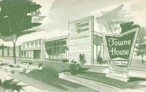 ROCHESTER, New York, 1950-60s; Towne House Motor Inn