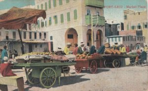 PORT SAID , Egypt , 00-10s ; Market Place