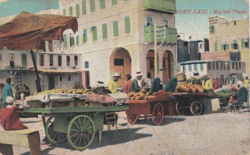 PORT SAID , Egypt , 00-10s ; Market Place