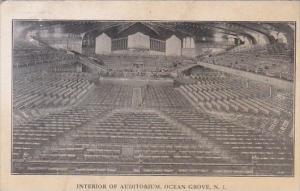 New Jersey Ocean Grove Interior Of Auditorium