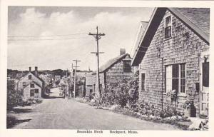 Massachusetts Rockport Bearskin Neck Albertype