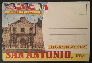 San Antonio Fold Out Postcard