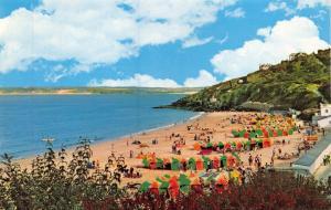 Vintage Postcard CORNWALL Porthminster Beach, St. Ives by NPO #B7148