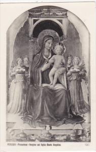 Italy Perugia Pinacoteca Vergine col figlio Beato Angelico Photo