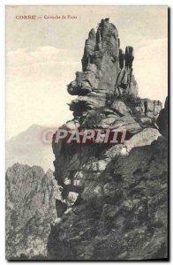 Old Postcard Corsica Calanche De Piana