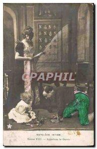 Old Postcard Napoleon Intimate Scene VIII Call Guard
