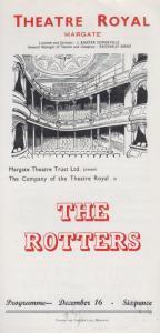 The Rotters Reginald Birks BBC Sunday Night Theatre Royal Margate Kent Programme