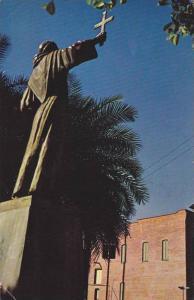 Statue of Junipero Serra, Los Angeles, California, PU-1976