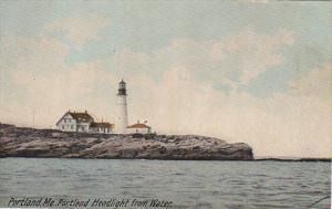Portland Head Lighthouse From Water Portland Maine