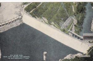 Kentucky Dix River dam Near High Bridge and Burgin