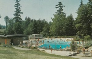 BURNABY, B.C. Canada , 50-60s; Robert Burnaby Park Swimming Pool
