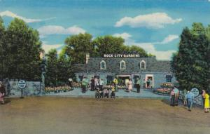 Entrance to Rock City Gardens Atop Lookout Mountain, Tennessee 1940-60s