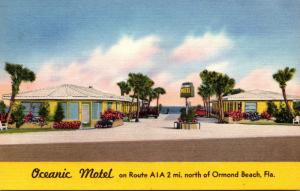 Florida Ormond Beach Oceanic Motel