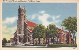 St Patrick's Church & Rectory , FALL RIVER , Massacusetts , 30-40s