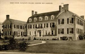 NH - Hanover. Dartmouth College, Dick's House