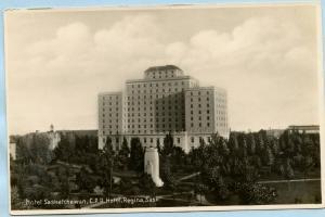 Canada - Saskatchewan, Regina, Hotel Saskatchewan, Canadian Pacific Railroad ...