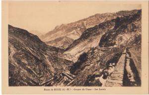 France, Route de BEUIL, Gorges du Cians, Les Lacets, unused Postcard