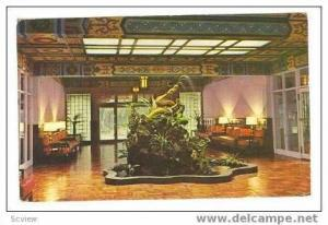 Golden Dragon Lobby, Grand Hotel, Taipei, Taiwan, PU 60s